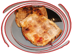 Pizza-Gaufre