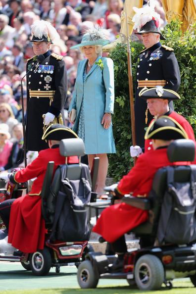 Camilla et les vétérans