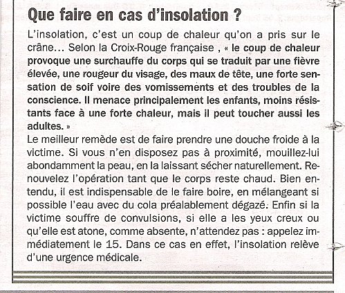 SANTE INSOLATION