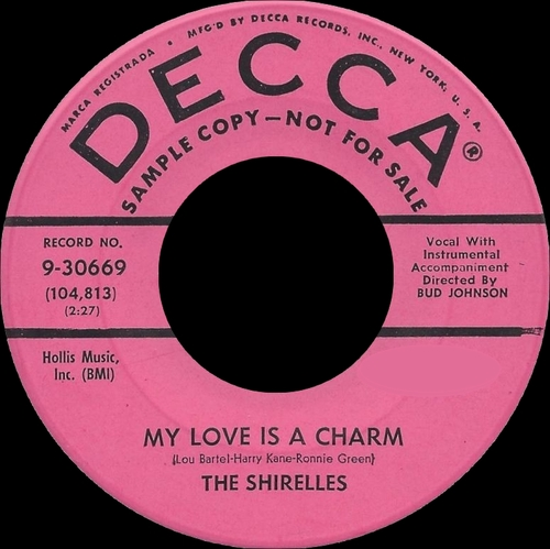 "The Shirelles : CD "" The Early Years Singles 1958-1960 "" SB Records DP 62 [ FR ]"