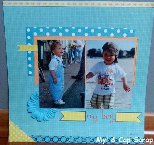 Mylène - Une page : My Boy