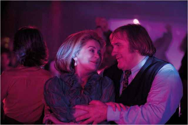 Potiche : Photo Catherine Deneuve, François Rozon, Gérard Depardieu