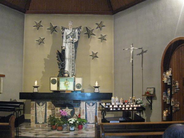 Banneux : chapelle saint Michel