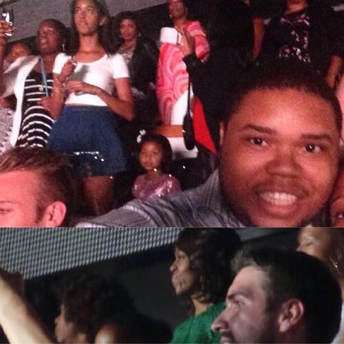 Michelle, Malia et Sasha Obama stars d'un concert de Beyoncé sur Twitter!