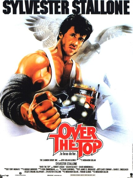 OVER THE TOP - le bras de fer - BOX OFFICE STALLONE 1987