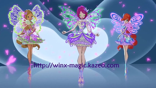 Bloom, Flora et Tecna Butterflix