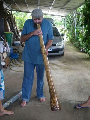 didgeridoo en agave