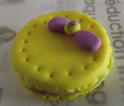 Fimo : petit gâteau