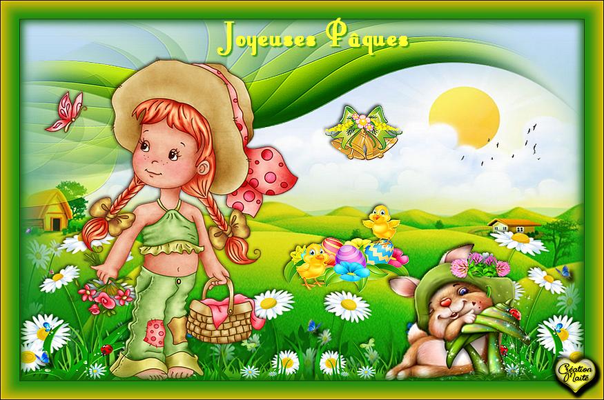 Douce et Joyeuses Pâques à Tous...
