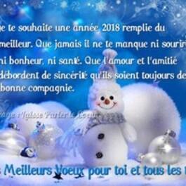Adieu 2017 et bonjour