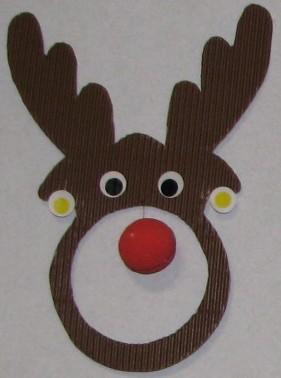 Raving reindeers - bricolage de Noël