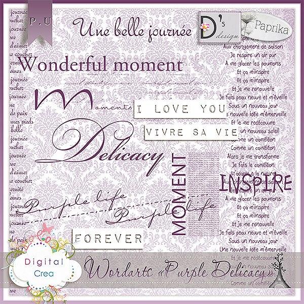 """""""Purple Délicacy"""" by Paprika and Doudou's D"""