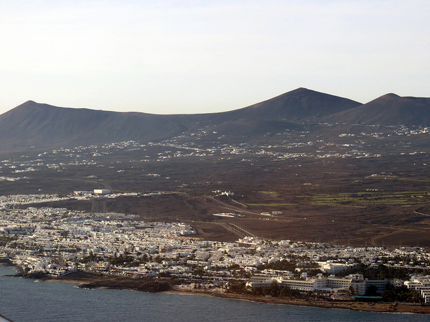 Lanzarote : le départ - l'arrivée