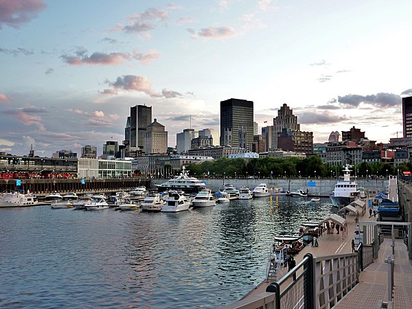 Montréal Port soir b