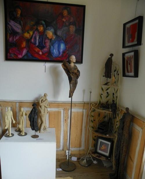Balade Artistique à l'Atelier de Mireille Belle
