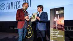La remise du Prix de la Culture à Sam Louwyck