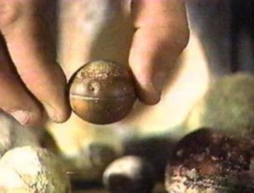 Les sphères métalliques inconnues