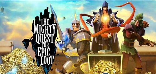 The Mighty Quest For Epic Loot en version bêta fermée