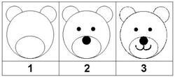 Comment dessiner un ourson