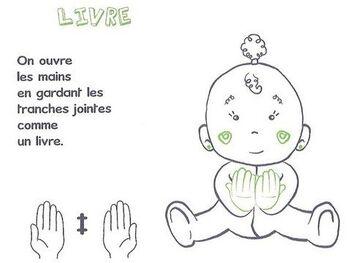 Bébé signeur : Des progrès en veux-tu en voilà (lumière et livre)