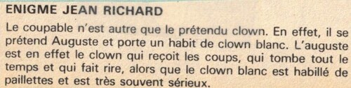 enquête de Jean Richard n°46