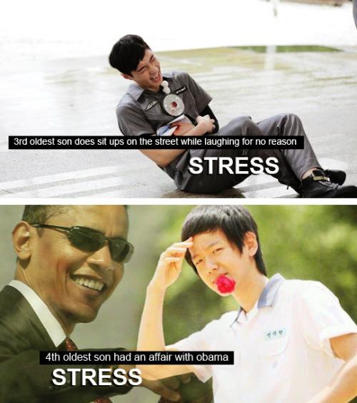 Stress - Big Byung parodie