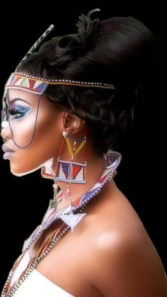 Tubes femmes création africaine 8
