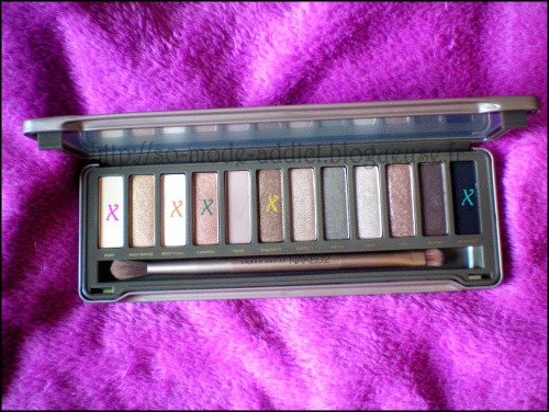 Make-up avec la Naked 2