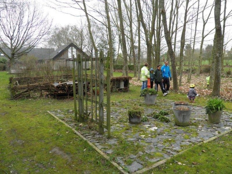 Last not least le jardin d'hôtes de Malik