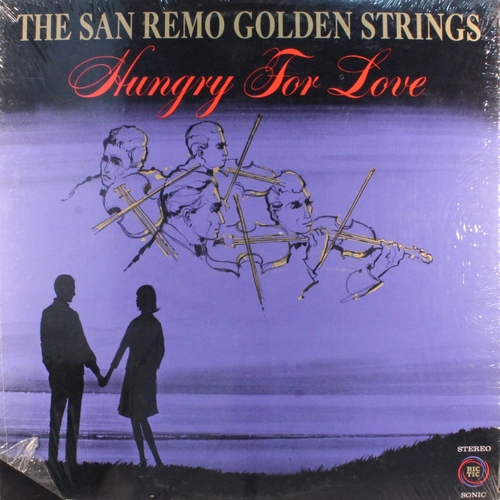 "The San Remo Golden Strings : Album "" Hungry For Love "" Ric-Tic Records ‎SLP-901 [ US ]"