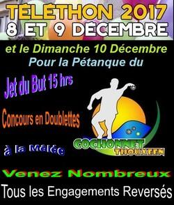 6ième Concours du Dimanche à Thoux - Concours du Téléthon.