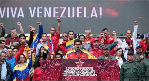VENEZUELA : « Soutien au président MADURO et au peuple vénézuélien ! » (PENSER LA FRANCE)