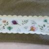 Catherine serviette fleurie