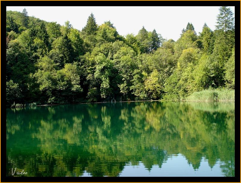Croatie : lac de Plevitcee (1)