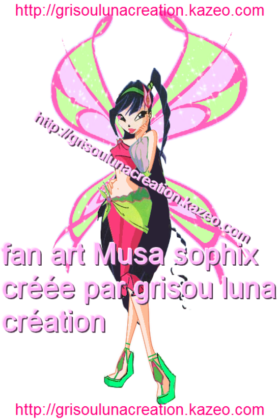 Musa sophix by me avec tag