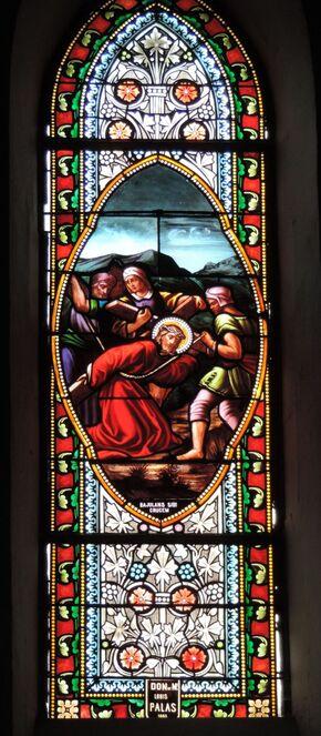 L'église de Laruns dept 64
