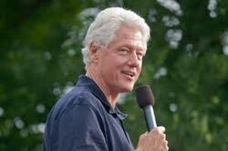 Le Soleil en Lion, Saturne en Lion- exemple de Bill Clinton