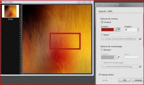 Tutoriel 23 Comment remplir une forme avec couleur ou texture