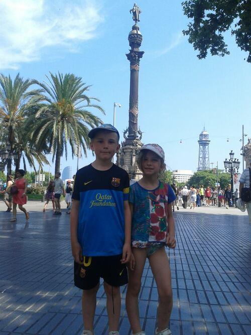 Barceloneta, rambla