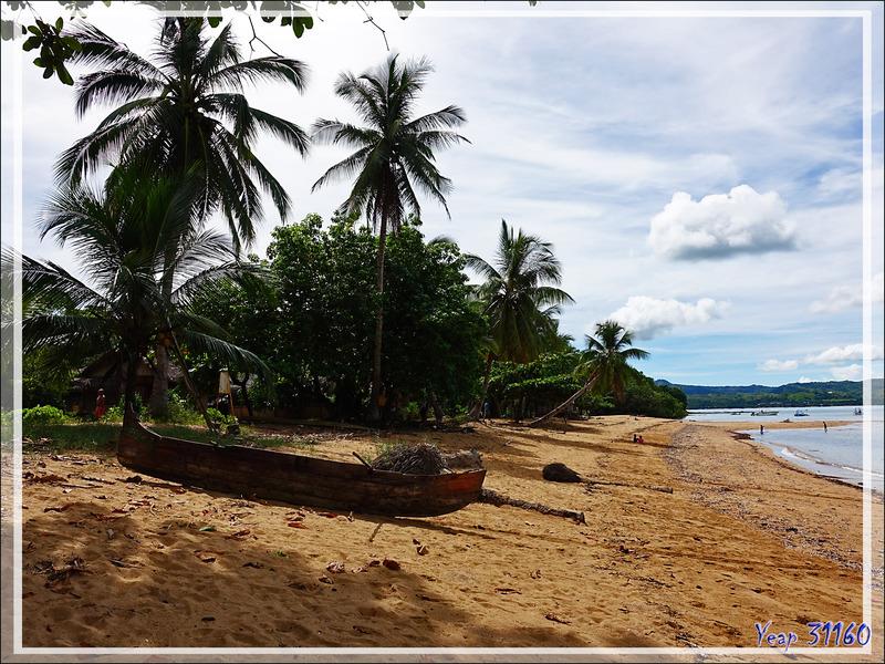 Panorama sur une plage du sud de Nosy Sakatia - Madagascar
