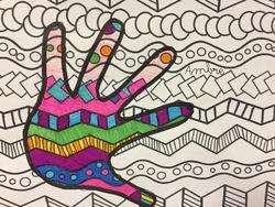 Mains et graphismes CE1