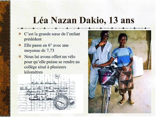 -Yamvénégré,une association d'aide aux écoliers du Burkina Faso