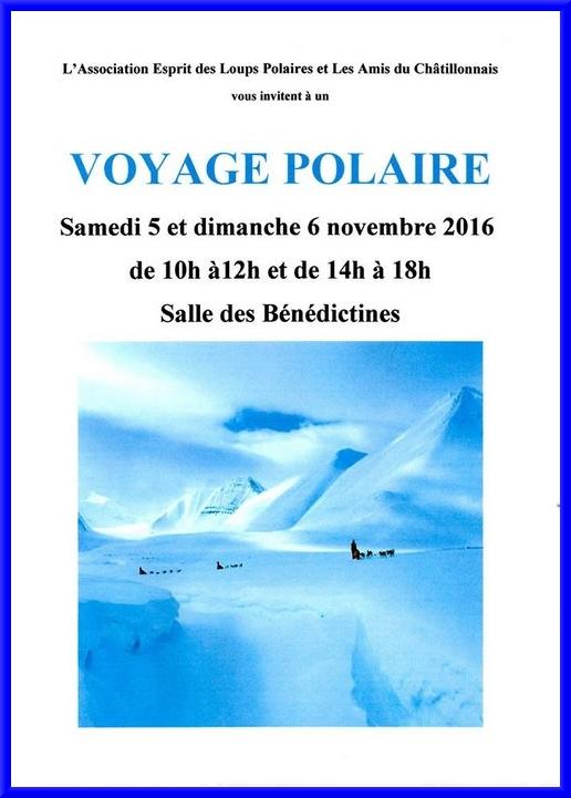 """Douze  peintres des Amis du châtillonnais ont réalisé de très belles huiles, acryliques et aquarelles pour l'exposition """"Voyage Polaire""""..."""