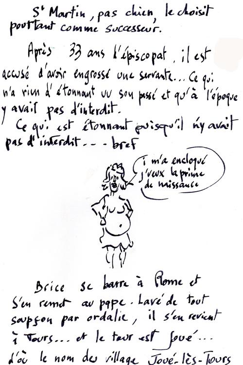 St Brice de Tours/gentillesse