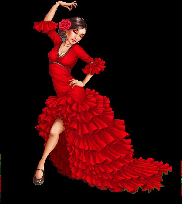 Tubes femmes dessin thinou - Dessin danseuse de flamenco ...
