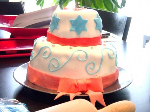 """Gâteau d'anniversaire """"2 étages"""""""