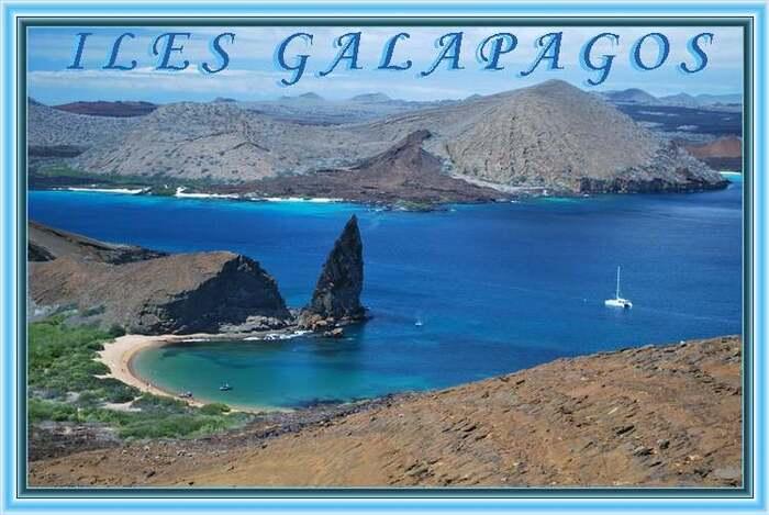 Patrimoine mondial de l'Unesco :  Les îles Galapagos - Equateur - 1ere partie