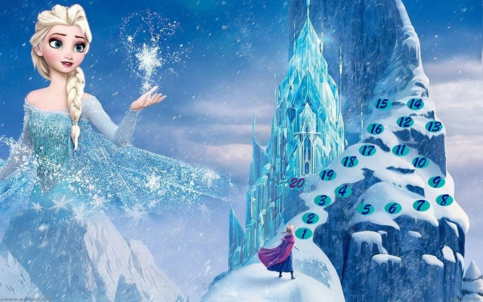 La reine des neiges par lucie b ortho souk for Chateau la reine des neiges