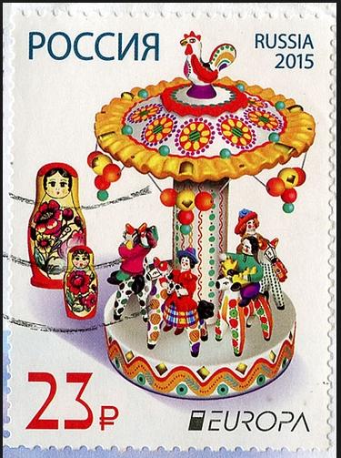 """0D125 Les jouets """"timbres"""" dans le monde"""