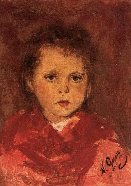 L'enfant grec peint par... Nikolaos Gyzis